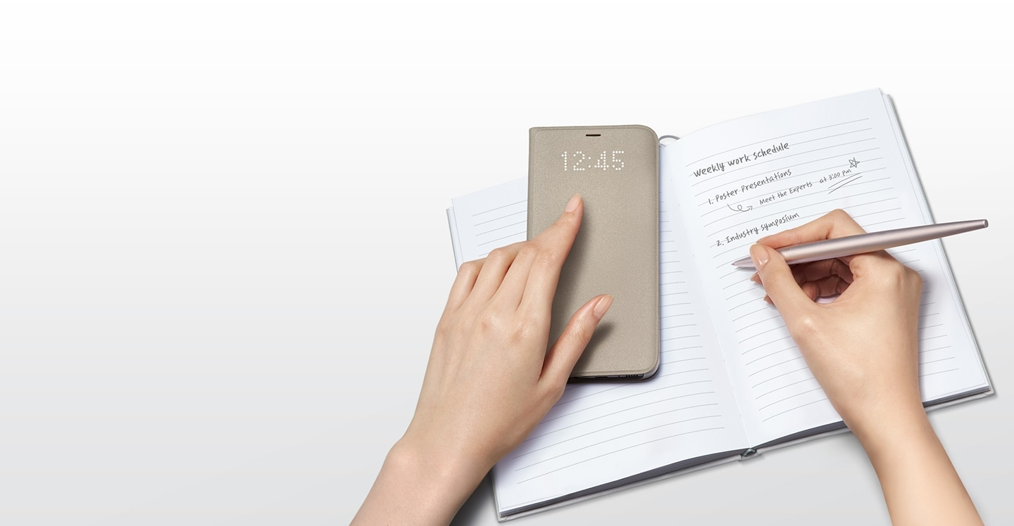 Your Galaxy can stay active even when the cover is closed