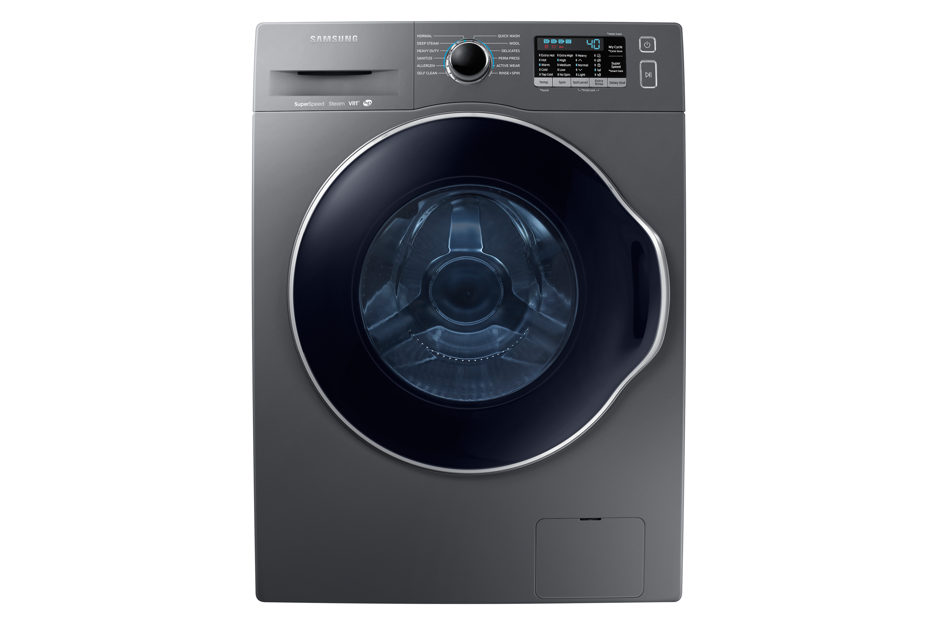 Samsung Ww6800 2 Cu Ft 24 Front Load Washer With Super