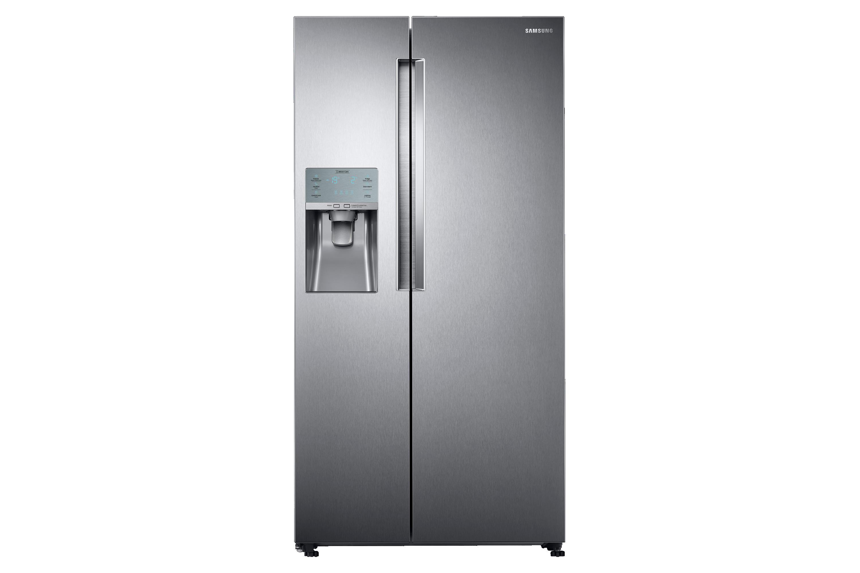 Side By Side Kühlschrank Test 2017 : Side by side kühlschrank edelstahl look cm l samsung de