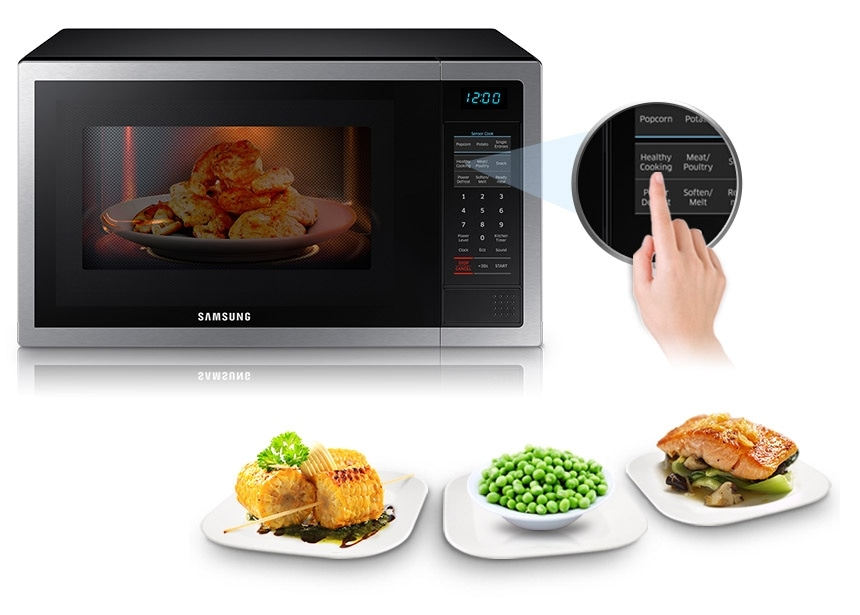 Me6124st 1 Stainless Steel Microwave Oven 34 L Me6124st