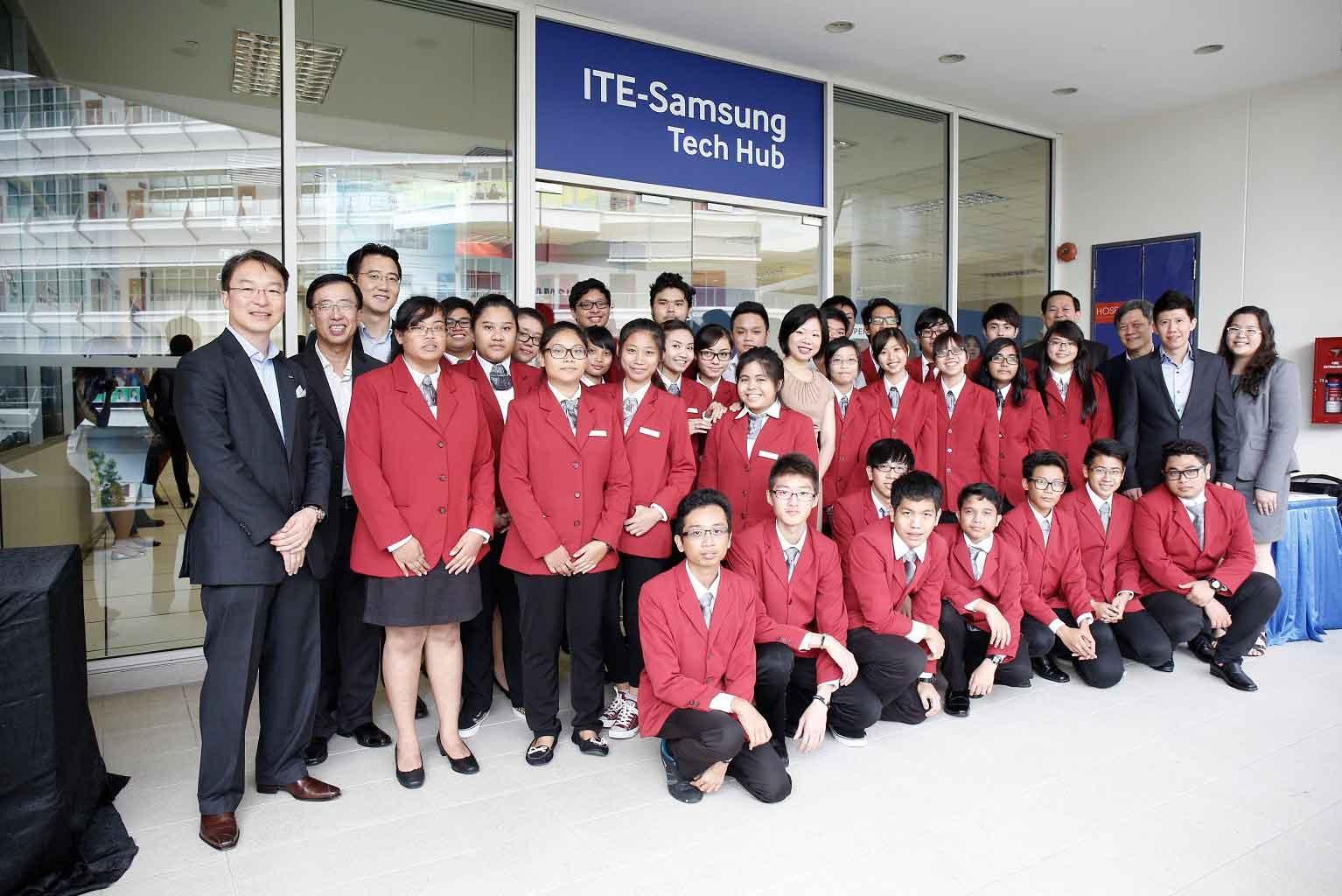 TE-SAMSUNG TECH HUB: PREPARING YOUTH FOR THE WORKFORCE