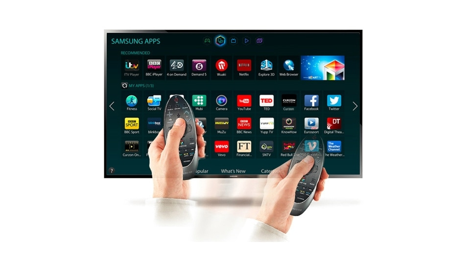 Easy touchpad and motion control for your TV